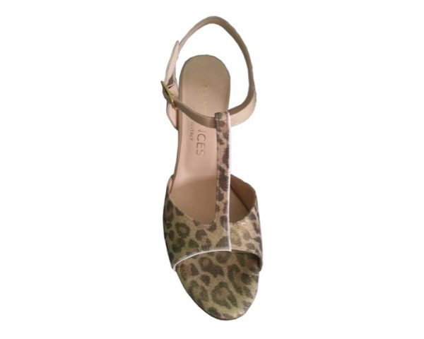 Naima Leopard - Entonces Tango Shoes -Made in Italy - TANGOTANA