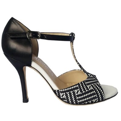 Black and White Tango Shoe for women, jpg 27 KB