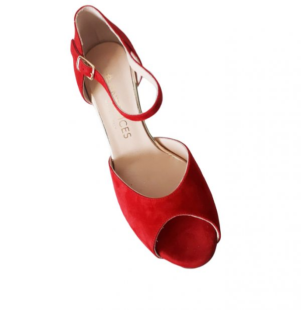 Tango Shoe for women. Gioia Diva. Made in Italy, jpg 159 KB