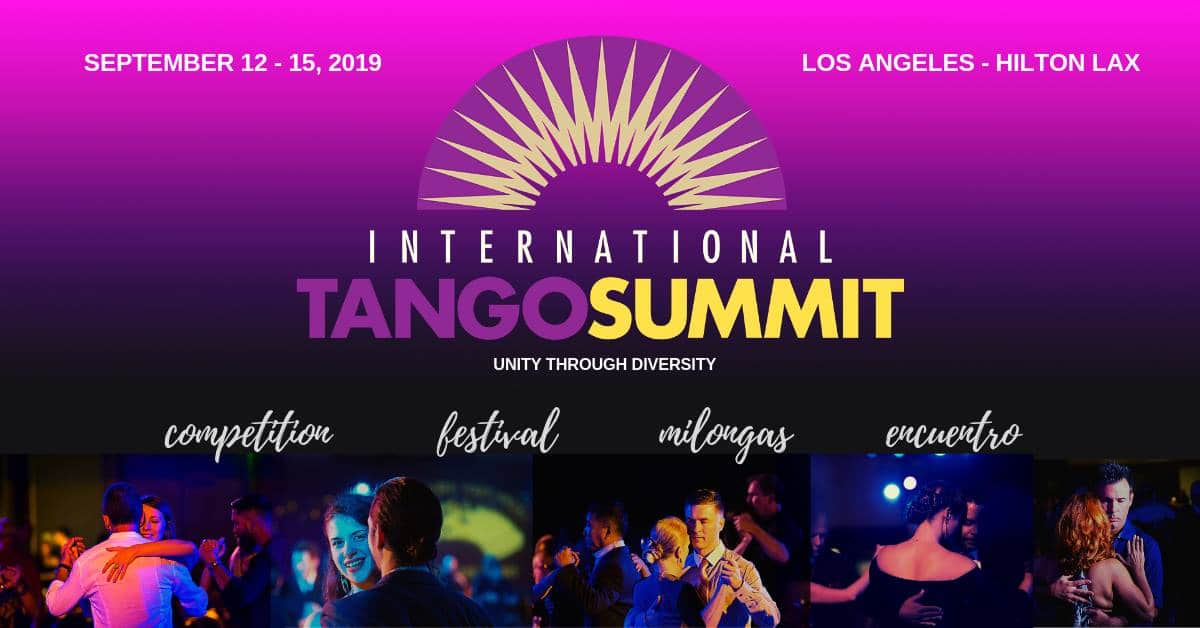International Tango Summit Los Angeles 2019 - Home
