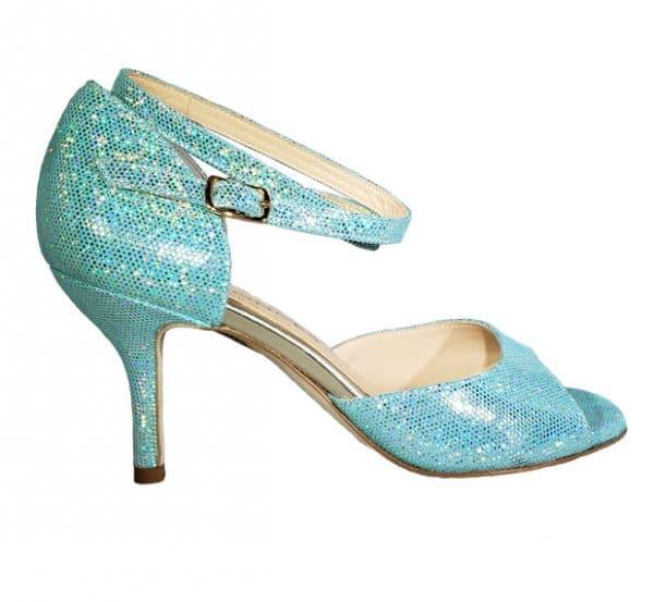 tango shoe, blue, jpg 11 KB
