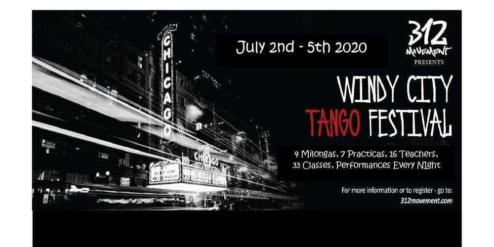 Windy City Tango Festival 2020 - Home