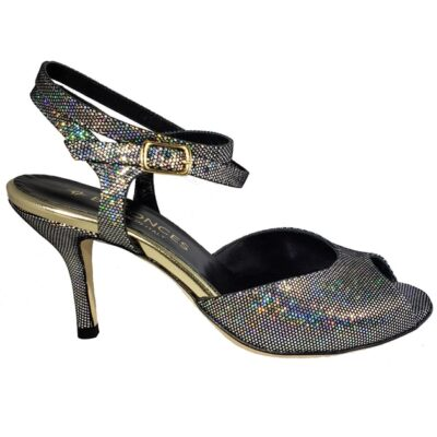 shiny tango shoe, made in Italy, jpg 55 KB