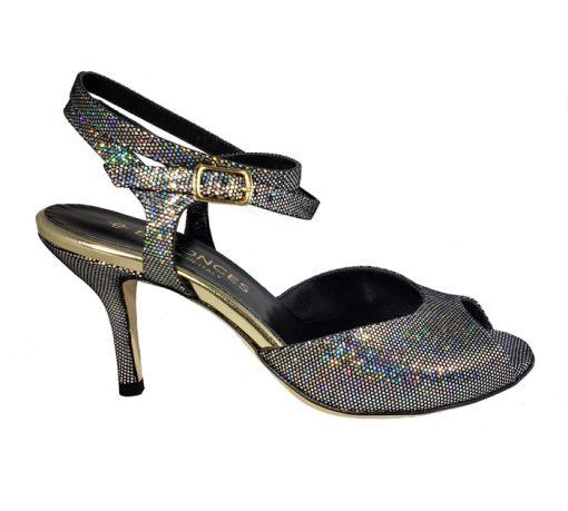 shiny tango shoe, made in Italy, jpg 55 KB