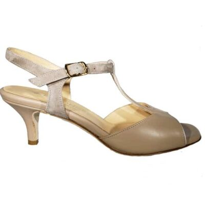 "Naima, t-strap in low heel (5cm or 2""). Entonces , Tango Tana Shoes"