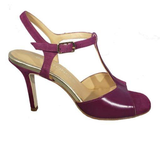 Naima - T strap tango shoe- Entonces, TangoTana, Made in Italy