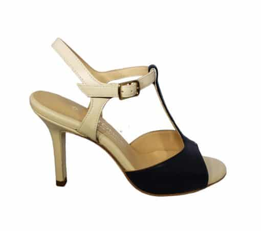 Naima Bicolor, Entonces, tango shoe, tangotana, jpg 18 KB
