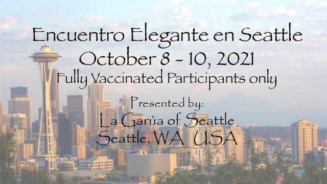 Encuentro Elegante in Seattle 2021 - Home